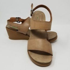 Shoes - Baretraps Nadean Faux Leather wedge sandals